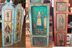 Hand Painted Doors by others. And I'll do myself.