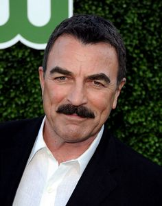 Tom Selleck...only man alive who can sport a caterpillar top lip and still make ladies swoon.
