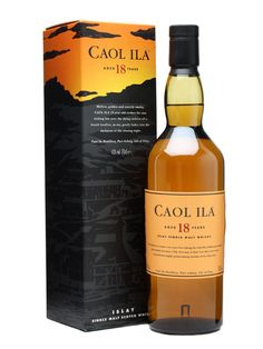 Caol Ila 18 Year Old #islay #single #malt scotch #love