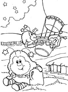 Rainbow Brite - 999 Coloring Pages