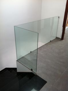Barandilla en cristal. Tenerife