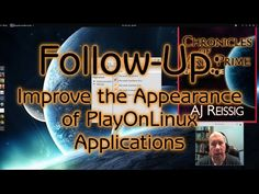Follow-Up: Improve the Appearance of PlayOnLinux Applications - YouTube