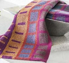 Mission Style Dish Towels in Turned Taquete