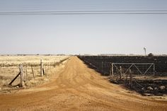 Diamond Diggings, between Bothaville and Leeudoringstad, North West by Garth Walker (South Africa) Open Spaces, North West, Railroad Tracks, South Africa, Country Roads, Landscape, Diamond, Gold, Photography