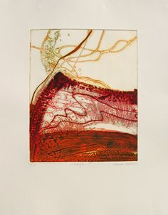 Wildfire I c collagraph image 40x32cm, paper 68x53cm.jpg (623×800)