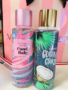 Brand new Victoria's Secret Candy Baby and Coconut craze mist with tag. - Brand new Victoria's Secret Candy Baby and Coconut craze mist with tag. Perfect for gift! Victoria Secret Body Spray, Victoria Secret Lotion, Victoria Secret Perfume, Victoria Secret Fragrances, Bath N Body Works, Bath And Body Works Perfume, Victorias Secret Cremas, Parfum Victoria's Secret, Perfume Body Spray