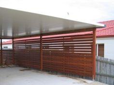 1000 images about carport on pinterest wooden carports for Carport fence ideas