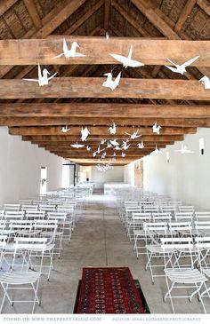 decoration_papier_grues_geantes_mariage