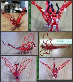 Bead Dragon by Soulalcatraz
