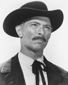 Lee Van Cleef - not the pretty boy type but he's oh so cool!