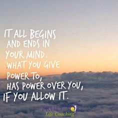 Twitter It is said that it all begins and ends in your mind. Whatever it is that you give #power to, has power over you. #Grief is like that. It can consume your days and overtake your spirit. But it doesn't have to be that way. The #GriefRecoveryMethod will give you tools and resources that will allow you to take control of the thoughts that once controlled you. Are you ready to let some of the old pain go?