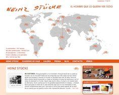 El largo viaje en bicicleta de Heinz Stücke #ciclismo #aventura #viajes http://blgs.co/17h601