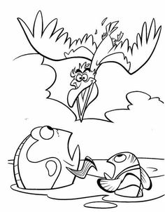 finding nemo coloring pages google sgning