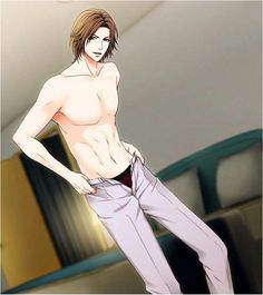 I'm awake? Hey Good morning, my wife!!! (●´∀`)ノ♡      (●♡∀♡) Radiant!!! Very sexy in five men, he did not reach the future japanese version I miss two characters is Shuichi and Luke's routes…. ( ಠ_ಠ)   Routes: Season 3, CGs  •Mitsunari Baba © Voltage Inc
