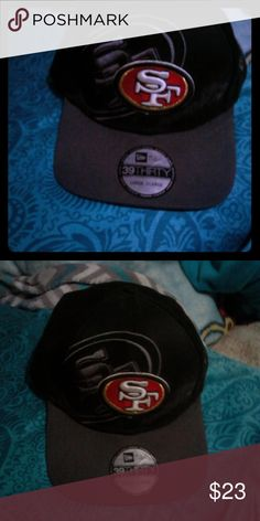 online retailer 8ab95 d14e2 San Francisco 49ers flex fit hat 3-D 49ers logo hat Accessories Hats
