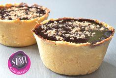 Csökkentett enrgiatartalmú, mogyorókrémes muffin (Light Paleo recept)Hozzávalók:Tészta: 100 g Totu - tojásfehérje túró (túróval helyettesíthető), 80 g zsírtalanított mandulaliszt (Kókuszliszttel