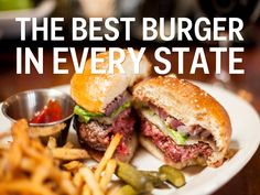 The Best Burger In Every State. #roadtrip