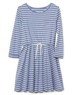 cc43200c3a Gap Girls Easy T-Shirt Dress - Camelia Orange Xxl Simple Girl, Kids Wear