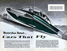 Flying cars. A classic.