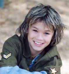 Boo Boo Stewart as a kid!!! so adorable <3