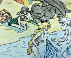 The Big Four at the Beach! XD