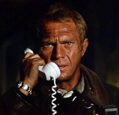 Steve McQueen was more movie star than actor, distinguished less by his acting versatility than by the fact that he looked really cool on a Triumph or in a Mustang GT. But his best performance came as the fire chief in THE TOWERING INFERNO (1974) & it played to his strengths: restraint & stoicism, required in abundance to fight a fire raging in the world's tallest building. The fire upstaged everyone, but McQueen was brave, graceful under pressure, & no b.s.; a hero for the '70s troubled…