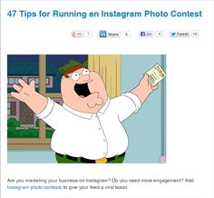 47 Tips for Running an Instagram Photo Contest via Wishpond.
