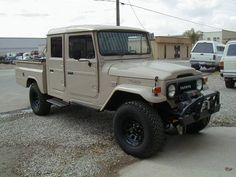 The FJ45 was only available in the U.S. from 1963-1967. Originally offered as a short bed pickup with fixed or removable top & doors, a long bed pickup with removable top & doors and as a 4-door wagon. However, availability of the these models is quite limited.