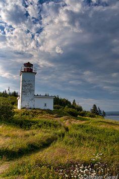 #Lighthouse - St. Martins, New Brunswick, #Canada - by SGirard84    http://dennisharper.lnf.com/