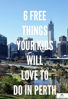 Perth is one of the coolest cities in the world and is the most isolated one. There's plenty to keep your kids entertained and here are the top 6 FREE things your kids can get up to. Perfect for the holidays looming. Croatia Travel, Thailand Travel, Italy Travel, Bangkok Thailand, Perth Western Australia, Australia Travel, Hong Kong Travel Tips, Travel Guide, Road Trip Destinations