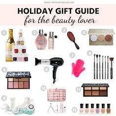 Holiday Gift Guide 2015: For The Beauty Lover  #beauty #holiday #giftguide