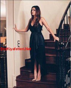 siyah inci 5 bolum Hazal siyah elbise