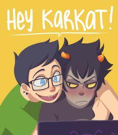 karkat and john