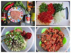 Mijn mixed kitchen: Lahmacun (zelfgemaakte Turkse pizza) Fresh Herbs, I Love Food, Healthy Snacks, Avocado, Grains, Salads, Stuffed Mushrooms, Pizza, Rice