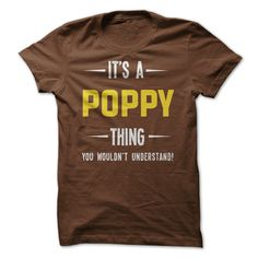 Its a Poppy Thing