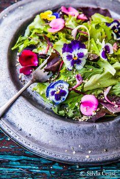 Edible Flower Salad Recipe