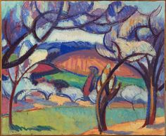 André Lhote, The Trees, 1909, Harvard Art Museums/Fogg Museum.