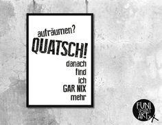 """CHAOS."" | typo poster | size L von FUNI SMART ART auf DaWanda.com"