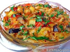 Ghiveci de legume-vegetable stew or cooked vegetable salad Vegetable Stew, Vegetable Salad, Vegetable Recipes, Healthy Cooking, Healthy Eating, Cooking Recipes, Healthy Recipes, Romanian Food, Romanian Recipes