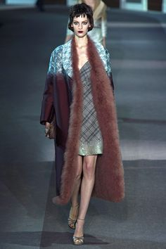 Louis Vuitton Fall 2013 RTW - Oh wow. That coat is sublime.