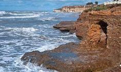 A beach shack fit for an emperor … Villa di Nerone in Anzio, Italy.