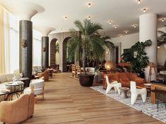 - design by Kelly Wearstler. Santa Monica, Kelly Wearstler, Colonial, Casa Hotel, Hotel 6, Airport Hotel, Hotel Deals, Bar Restaurant, Restaurant Design
