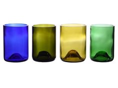 Re-purposed wine bottles made into tumblers. :)