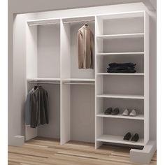 36 ideas reach in closet system walk in for 2019 Bedroom Closet Design, Master Bedroom Closet, Closet Designs, Bedroom Storage, Wardrobe Design, Narrow Closet Design, Entryway Closet, Rustic Entryway, Closet Office