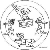 Kinderturnen Mandala