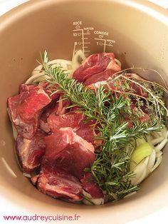 Gardiane de boeuf, comme en Camargue, mais sans le Taureau 24 viande recettes au multicuiseur
