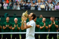 Federer claimed his record Grand Slam title and at is Wimbledon's oldest men's winner of the modern era, succeeding Arthur Ashe, who was almost 32 when he won in the Swiss superstar's Wimbledon final, and Wimbledon 2017, Wimbledon Final, Tennis Legends, Tennis News, Tennis World, Sports Headlines, Mr Perfect, Latest Sports News, The Championship