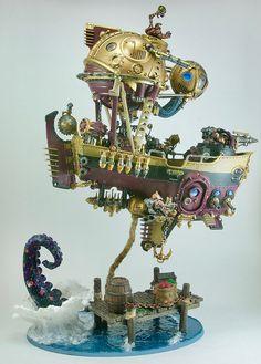 Arkanaut Ironclad. Kharadron Overlords