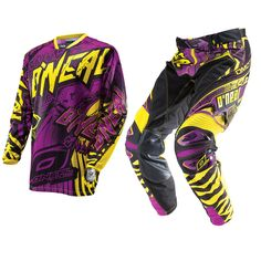 Oneal Hardwear 2014 Automatic Purple-Yellow Motocross Kit  Description: The Oneal Hardwear 2014 Automatic Purple/Yellow Motocross Kit       is packed with features..              JERSEY SPECIFICATION                      Sublimated No-Fade Graphic – So your shirt will look new a long         time                    High Quality Moisture Wicking...  http://bikesdirect.org.uk/oneal-hardwear-2014-automatic-purple-yellow-motocross-kit-25/