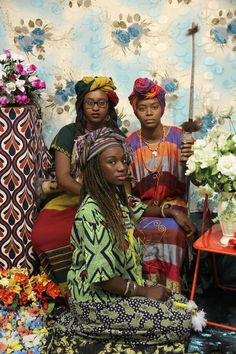 """Photographer Chronicles The New African Diaspora In Vibrant Portraits She's dubbed her subjects """"Third Culture Kids."""""""
